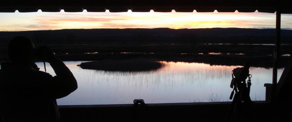 Vista panorámica desde el observatorio de El Croa