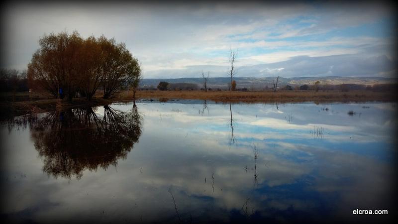 Laguna del Cañizar al atardecer